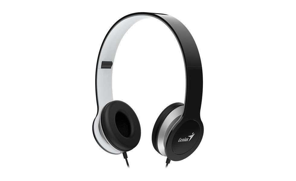 Genius sluchátka s mikrofonem HS-M430, černá