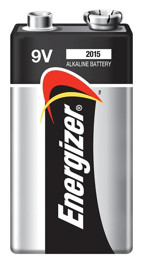 Energizer Bateria Alkaline Power, E, 6LR61, 9V