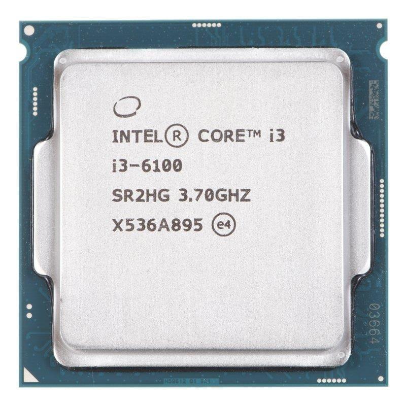 Intel Core i3-6100, Dual Core, 3.70GHz, 3MB, LGA1151, 14nm, 51W, VGA, TRAY