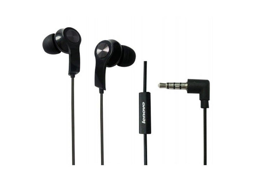 Lenovo in ear headset P165(black)