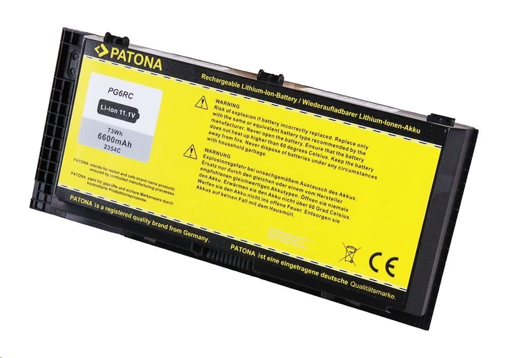 Patona Baterie Patona pro Dell Precision M4600 6600mAh Li-Ion 10,8V