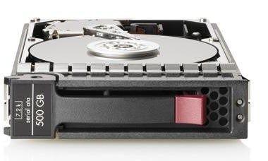 HP HDD 500GB SATA LFF 3.5 MDL 7.2k 3G HP RENEW 458928-B21