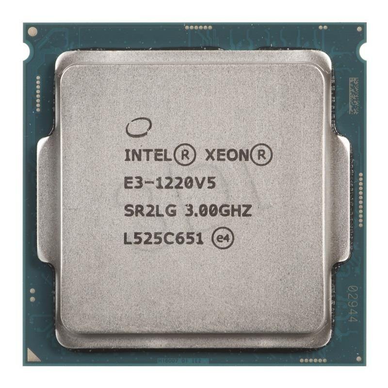 Intel Procesor Xeon E3-1220 V5 CM8066201921804 947230 ( 3000 MHz (min) ; 3500 MHz (max) ; LGA 1151 ; OEM )