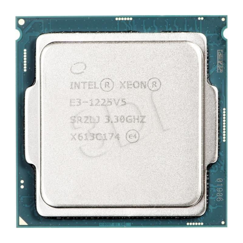 Intel Procesor Xeon E3-1225 v5 CM8066201922605 947247 ( 3300 MHz (min) ; 3700 MHz (max) ; LGA 1151 ; OEM )