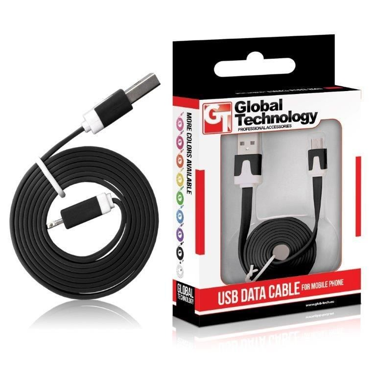 Global Technology GT Kabel USB - microUSB czarny