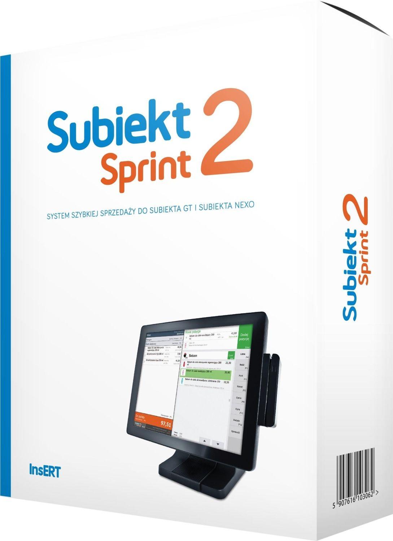 InsERT Oprogramowanie InsERT - Subiekt Sprint 2