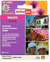 ActiveJet Tusz ActiveJet AB-1100M | Magenta | 19,5 ml | Brother LC1100M,LC980M