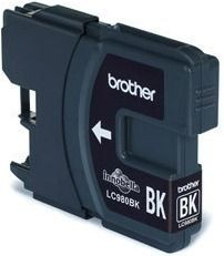 Brother Tusz LC980BK black | 300str | DCP145C / DCP165C / MFC250C / MFC290C