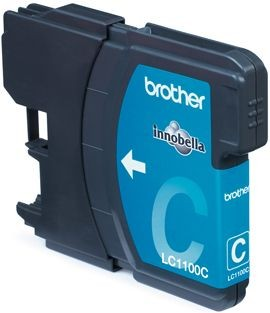 Brother Tusz LC1100C cyan | 325str | DCP395CN / DCP585CW / DCP6690CW