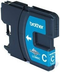 Brother Tusz LC980C cyan | 260str | DCP145C / DCP165C / MFC250C / MFC290C