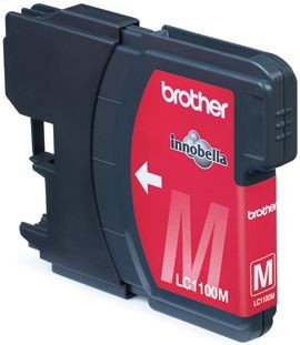 Brother Tusz LC1100M magenta | 325str | DCP395CN / DCP585CW / DCP6690CW