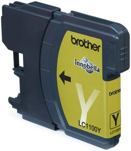 Brother Tusz LC1100Y yellow | 325str | DCP395CN / DCP585CW / DCP6690CW