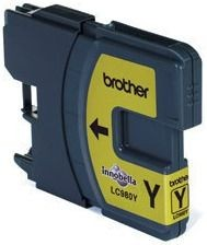 Brother Tusz LC980Y yellow | 260str | DCP145C / DCP165C / MFC250C / MFC290C