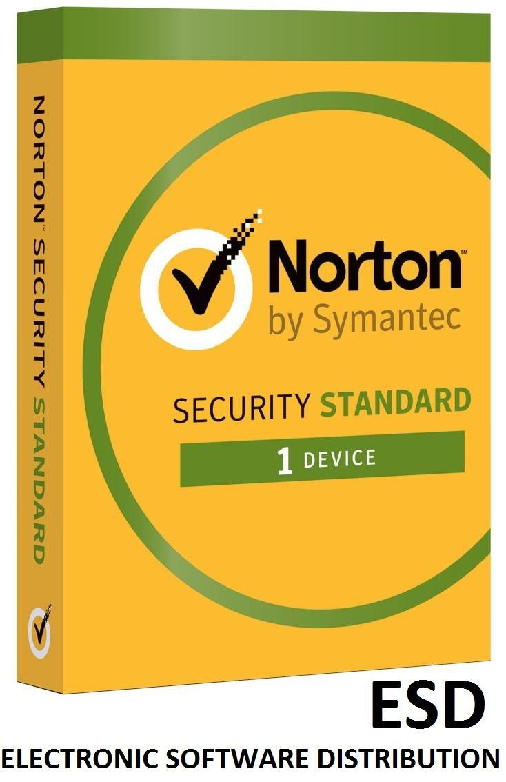 Symantec NORTON SECURITY STANDARD 3.0 PL 1 USER 1 DEVICE 12MO SPECIAL DRM KEY FTP ESD