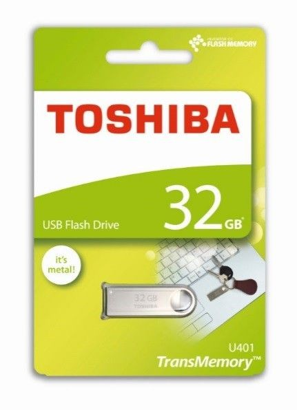 Toshiba 32GB U401 USB 2.0 SILVER