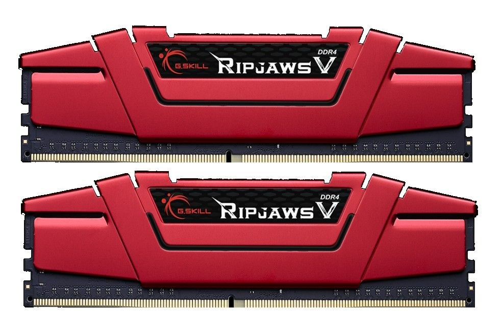 GSkill DDR4 8GB (2x4GB) RipjawsV 3000MHz CL15 rev.2 XMP2 Red