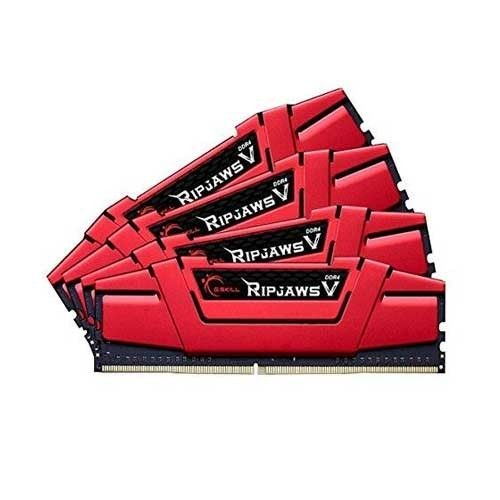 GSkill DDR4 32GB (4x8GB) RipjawsV 3000MHz CL15 rev2 XMP2 Red