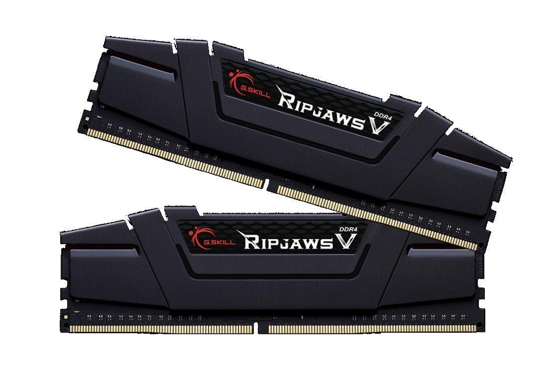 GSkill DDR4 32GB (2x16GB) RipjawsV 3200MHz CL16 XMP2 Black