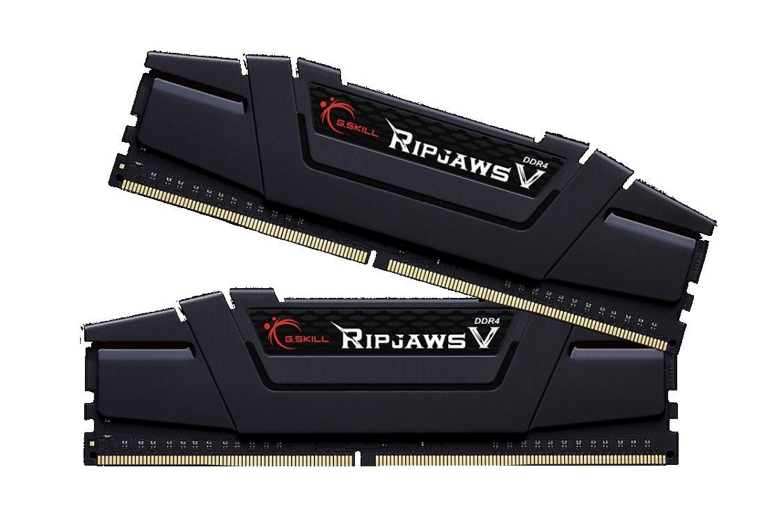 GSkill DDR4 8GB (2x4GB) RipjawsV 3200MHz CL16 rev2 XMP2 Black