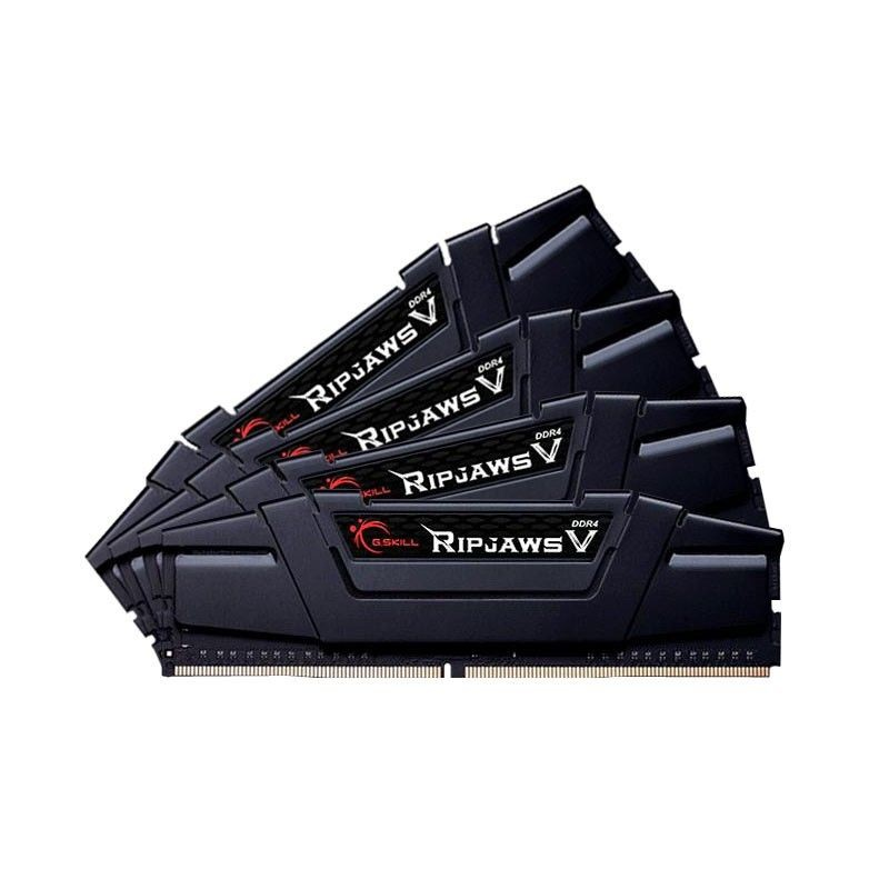 GSkill DDR4 16GB (4x4GB) RipjawsV 3200MHz CL16 rev2 XMP2 Black