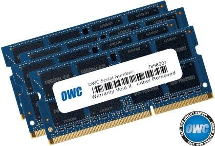 OWC SO-DIMM DDR3 64GB (4x16GB) 1867MHz CL11 (iMac 27 5K Late 2015 Apple Qualified)