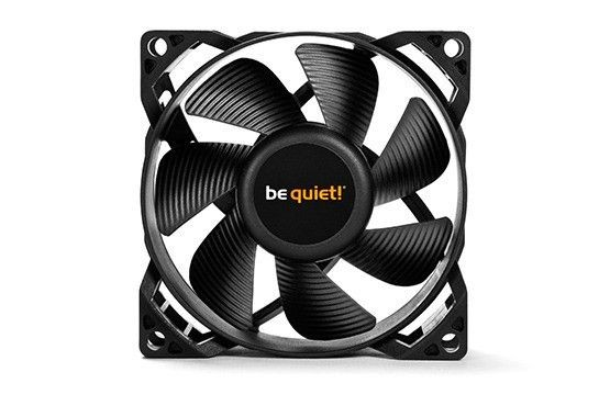 be quiet! wentylator Pure Wings 2 80mm PWM, 18,2 dBA
