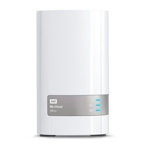 Western Digital NAS WD My Cloud Mirror, RAID, 4TB, 10/100/1000 Mb/s, biały