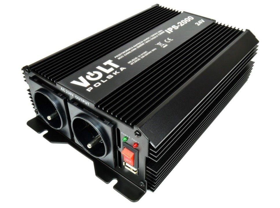 Volt Przetwornica napiecia 2000W / 24V
