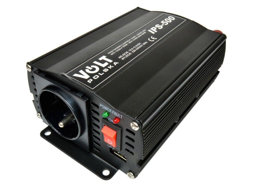 Volt Przetwornica napiecia 500W / 12V