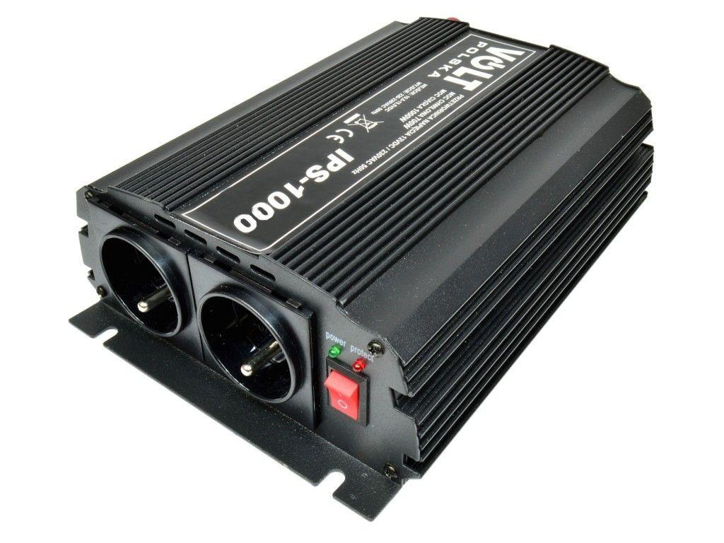 Volt Przetwornica napiecia 1000W / 12V
