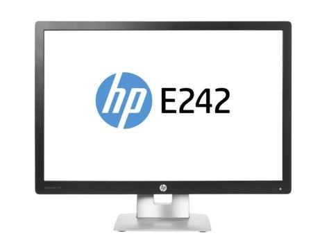 HP EliteDisplay E242 24.0 IPS 1920x1200 WUXGA 16:10 250cd 7ms Pivot USB HDMI VGA DisplayPort