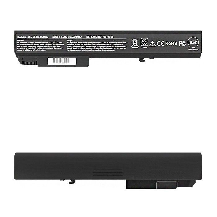 Qoltec Bateria do laptopa Long Life HP EliteBook 8530p | 14.4-14.8V | 4400mAh