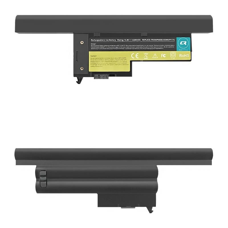Qoltec Bateria do laptopa Long Life - Lenovo ThinkPad X60 | 4400mAh | 14.8V