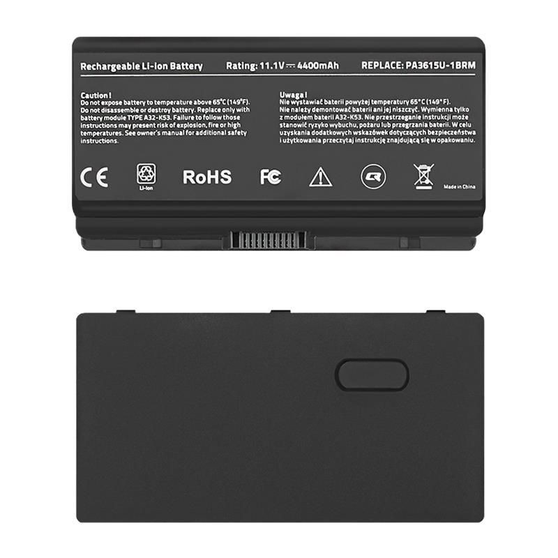 Qoltec Bateria do laptopa Long Life - Toshiba PA3615U | 4400mAh | 11.1V