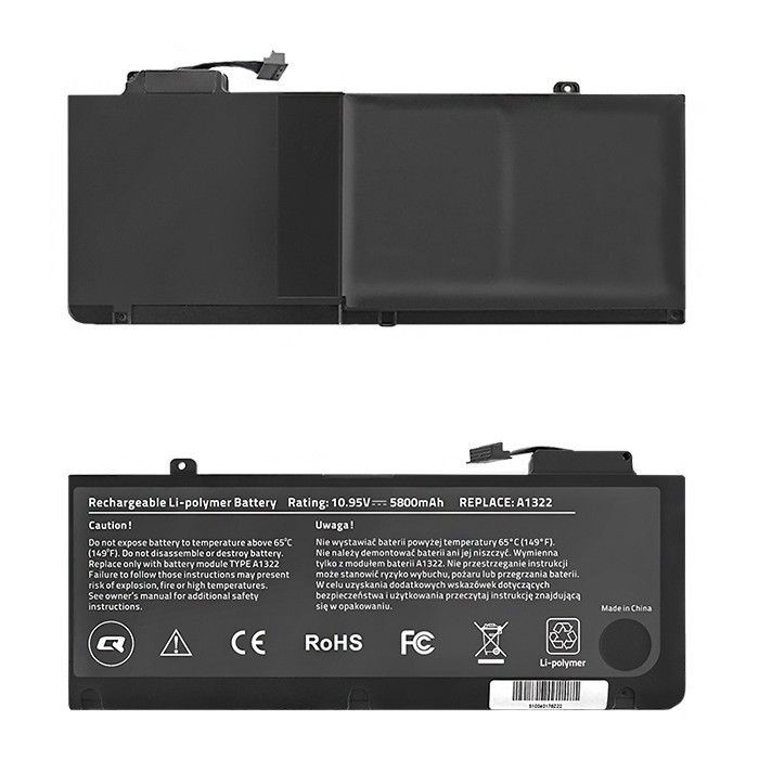 Qoltec Bateria do laptopa Long Life - MacBook Pro 13'' | 5800mAh | 10.95V