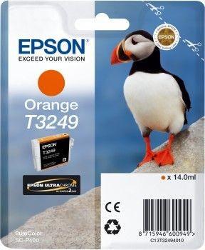 Epson Tusz T3249 orange | 14,0 ml | 980 str | SureColor SC-P400