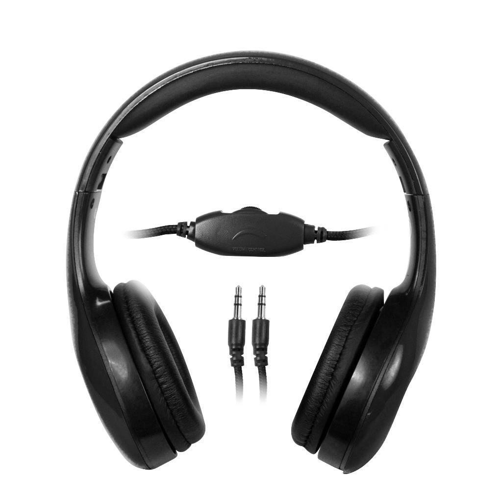 Vakoss MSONIC Słuchawki stereo z regulacją głośności MH531K czarne