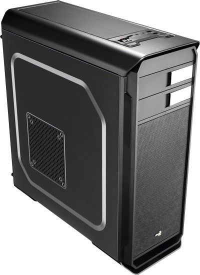 Aerocool AERO-500 BLACK, Obudowa ATX, USB 3.0, bez zasilacza