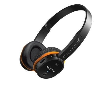Creative Outlier czarne słuchawki bezprzewodowe z mikrofonem