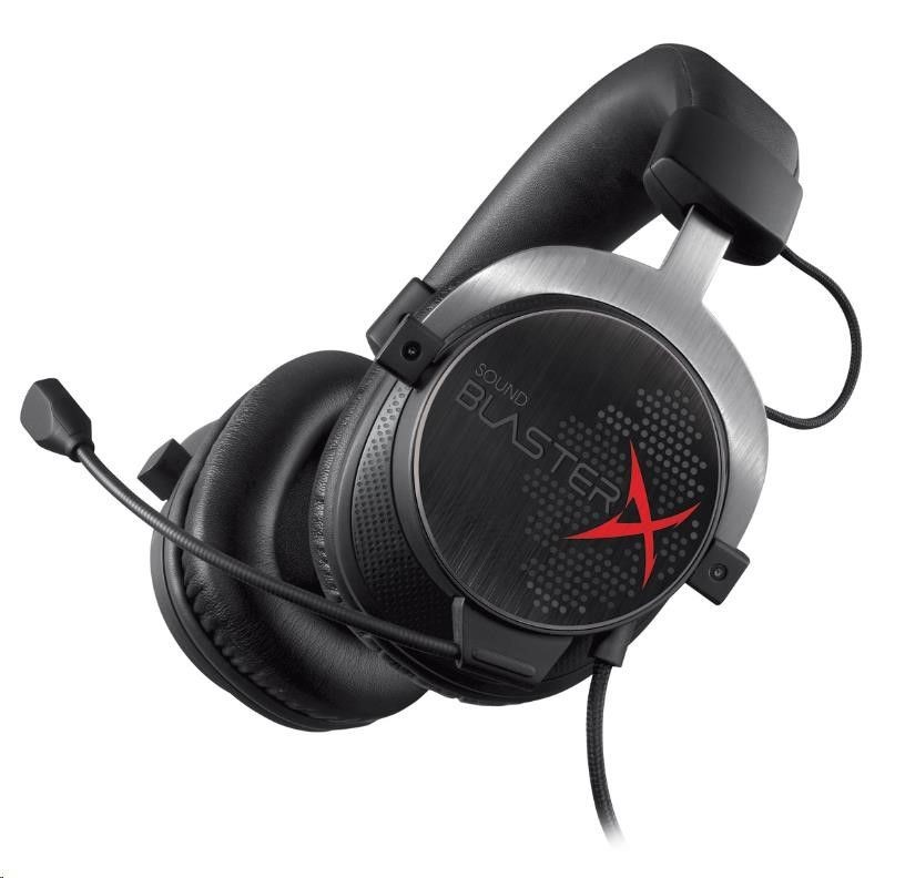 Creative Sound Blaster H5 gaming headset with microphone black Creative