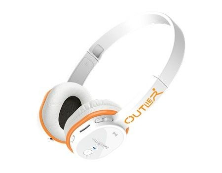 Creative Outlier białe słuchawki bezprzewodowe z mikrofonem