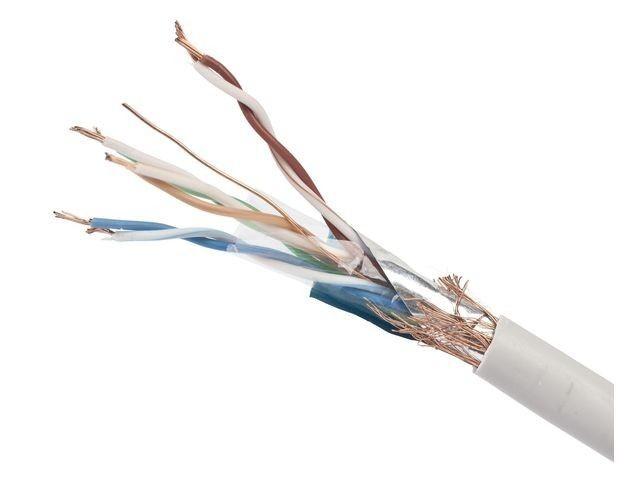 Gembird kabel instalacyjny linka SFTP, kat. 5e, AL-CU, 100m, szary