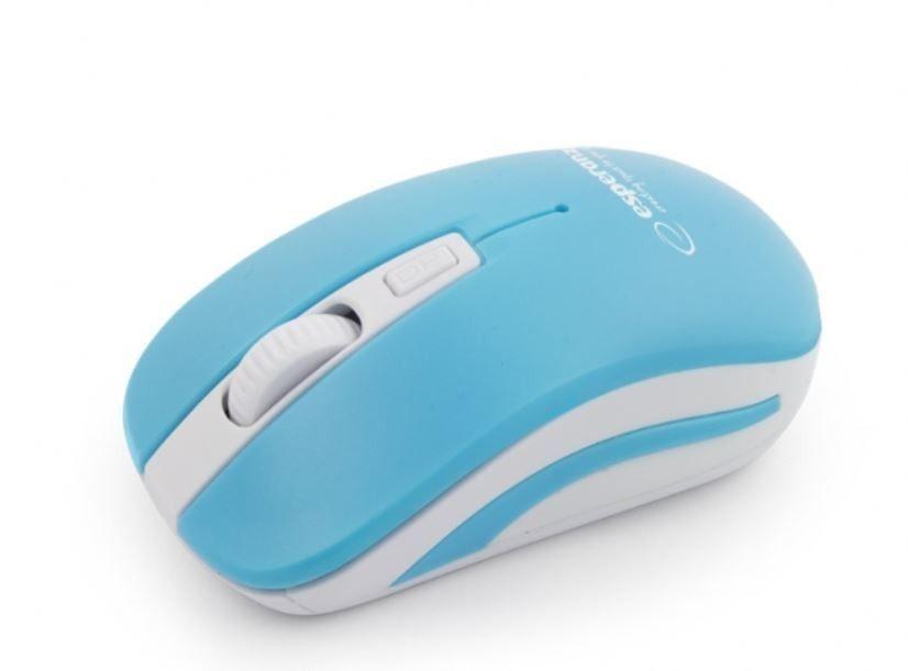 Esperanza EM126WB Bezprzewodowa Mysz Optyczna USB|NANO Odbiornik 2,4 GHz|URANUS