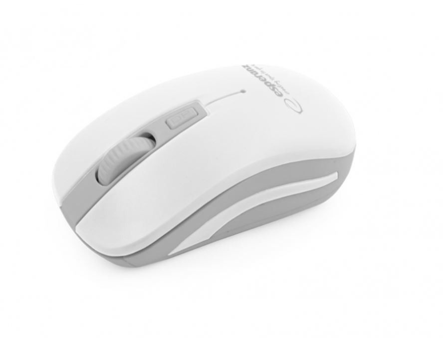 Esperanza EM126EW Bezprzewodowa Mysz Optyczna USB|NANO Odbiornik 2,4 GHz|URANUS