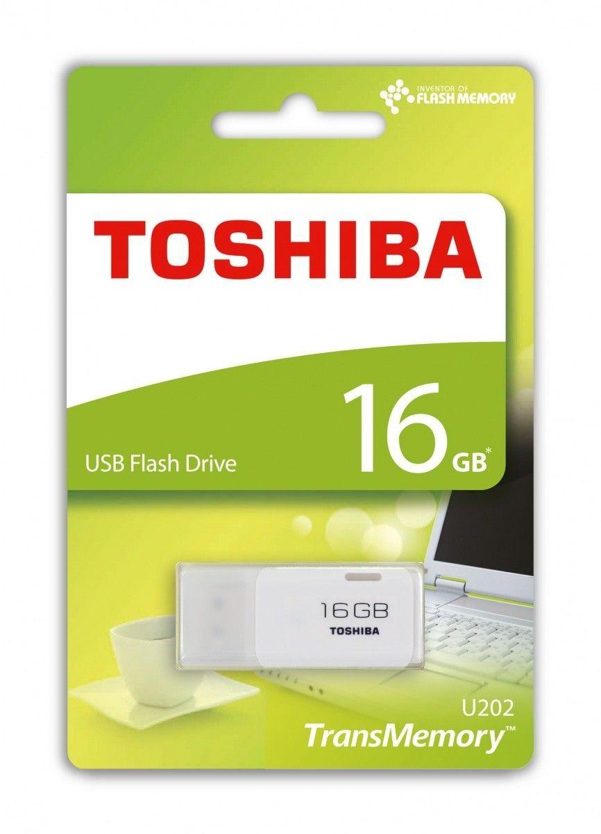 Toshiba Pamieć USB U202 16GB USB 2.0 Biała