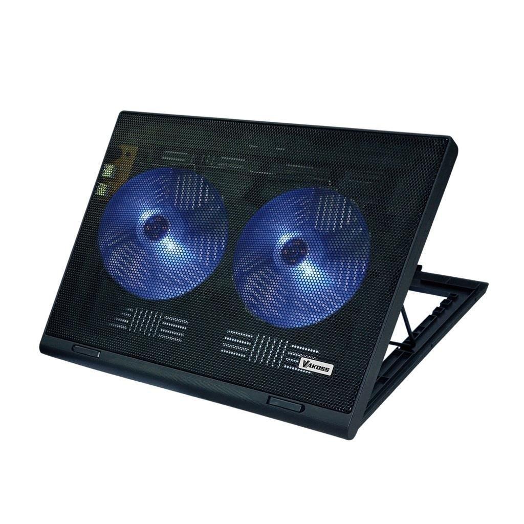 Vakoss Podstawka Chłodząca pod laptopa 17'' LF-2463 CZARNA