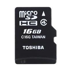 Toshiba microSDHC 16GB class 4 High Speed M102