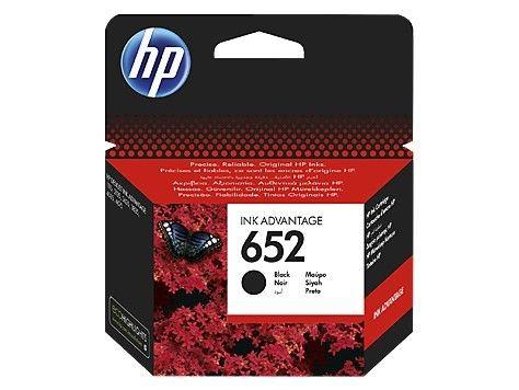 HP Tusz nr 652 Black F6V25AE