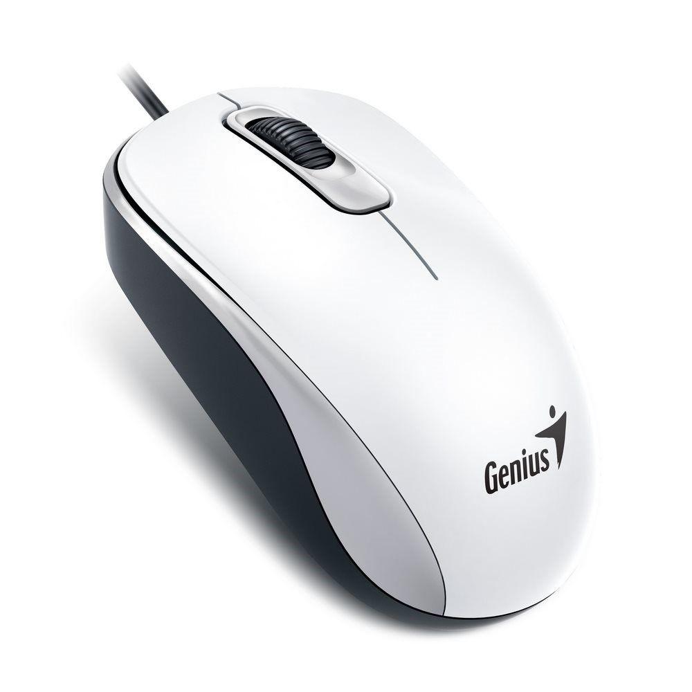 Genius Mysz optyczna DX-110 USB Elegant white