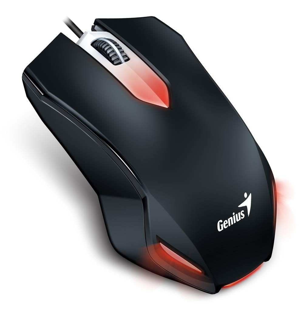 Genius Mysz X-G200 USB, kolor czarny